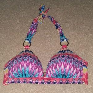 multicolor 👙 bikini top